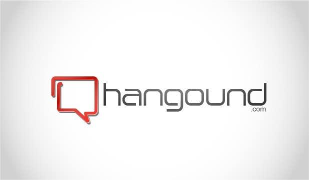 Logo design for Hangound (hangound.com), a new web social network based in NY. için 67 numaralı Yarışma Girdisi