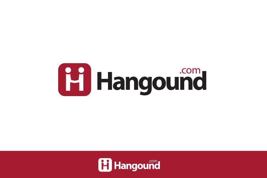 Konkurrenceindlæg #15 for Logo design for Hangound (hangound.com), a new web social network based in NY.