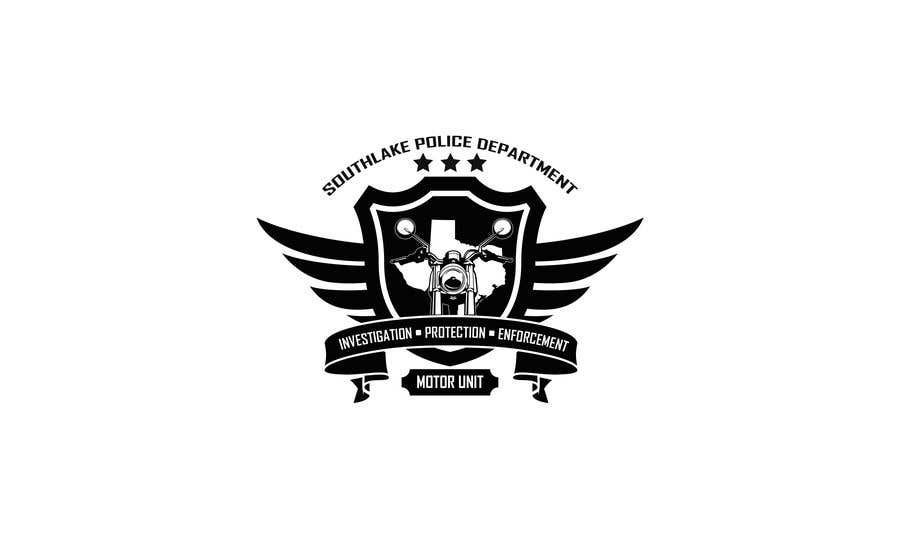 Entry #11 by Anrolette for Police Motorcycle Unit Logo