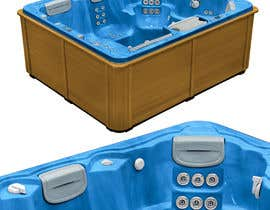 syamjiths7 tarafından Expert Level Photoshop - hot tub acrylic / cabinet color comps (textures, marbling, colors) için no 41