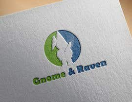 Nro 18 kilpailuun Design a Logo for Gnome & Raven käyttäjältä powerice59