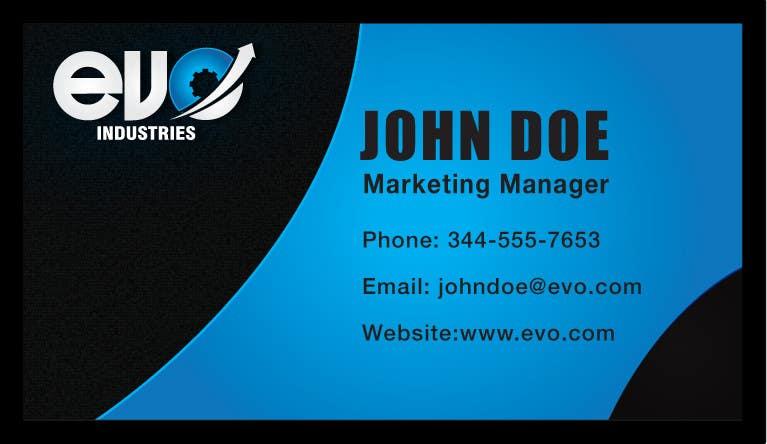 Konkurrenceindlæg #427 for Logo Design for EVO Industries