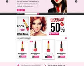 Nro 43 kilpailuun Home page design käyttäjältä gravitygraphics7