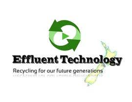 #126 para Logo Design for Effluent Technology por raoufdesk