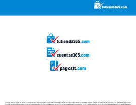 #42 para Create 3 logos for e-commerce sites with same graphic line de ratstudio