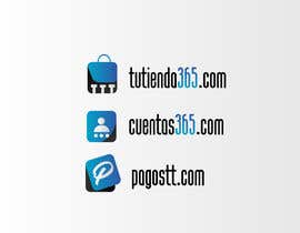 #50 para Create 3 logos for e-commerce sites with same graphic line de nizaraknni