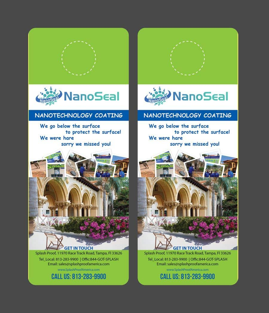 Contest Entry #53 for NanoSeal Brochure & Doorhanger