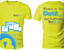 #93 for ***T-SHIRT*** for SurDoc.com - Bold, modern, innovative, fresh!!! af Ubaidahmadmughal