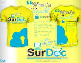 #64 for ***T-SHIRT*** for SurDoc.com - Bold, modern, innovative, fresh!!! af EzaiLX