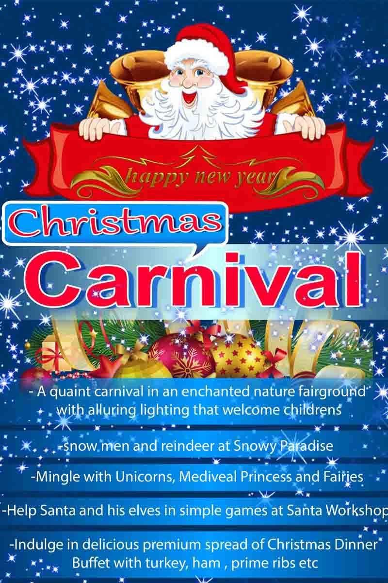 Příspěvek č. 42 do soutěže Design Christmas Carnival Marketing Material