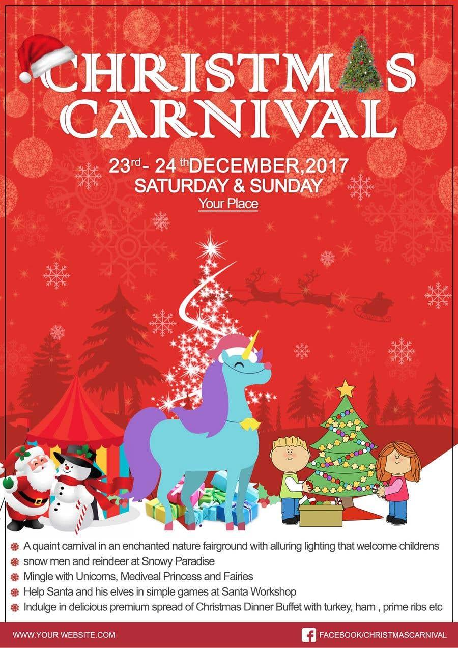 Příspěvek č. 76 do soutěže Design Christmas Carnival Marketing Material