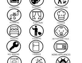 nº 4 pour Design Icons for App par hamzahanif456