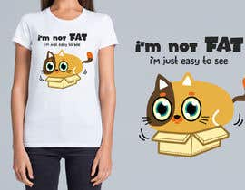 #59 untuk Cute and funny cats and dog desgns for T-Shirts. MULTIPLE WINNERS! oleh crazyteoh
