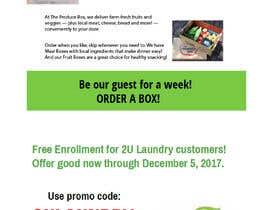 nº 45 pour Holiday Email Campaign par asik01711