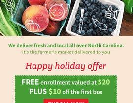 nº 32 pour Holiday Email Campaign par hemotim