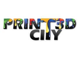 parulgupta549 tarafından Design a 3D Looking Logo - Print3D City için no 19