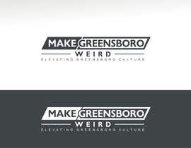 "aligraphics786 tarafından LOGO ""Make Greensboro Weird"" için no 272"