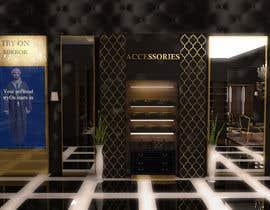 #8 untuk Design an interior for abaya/thawb shop for men oleh cherryscake
