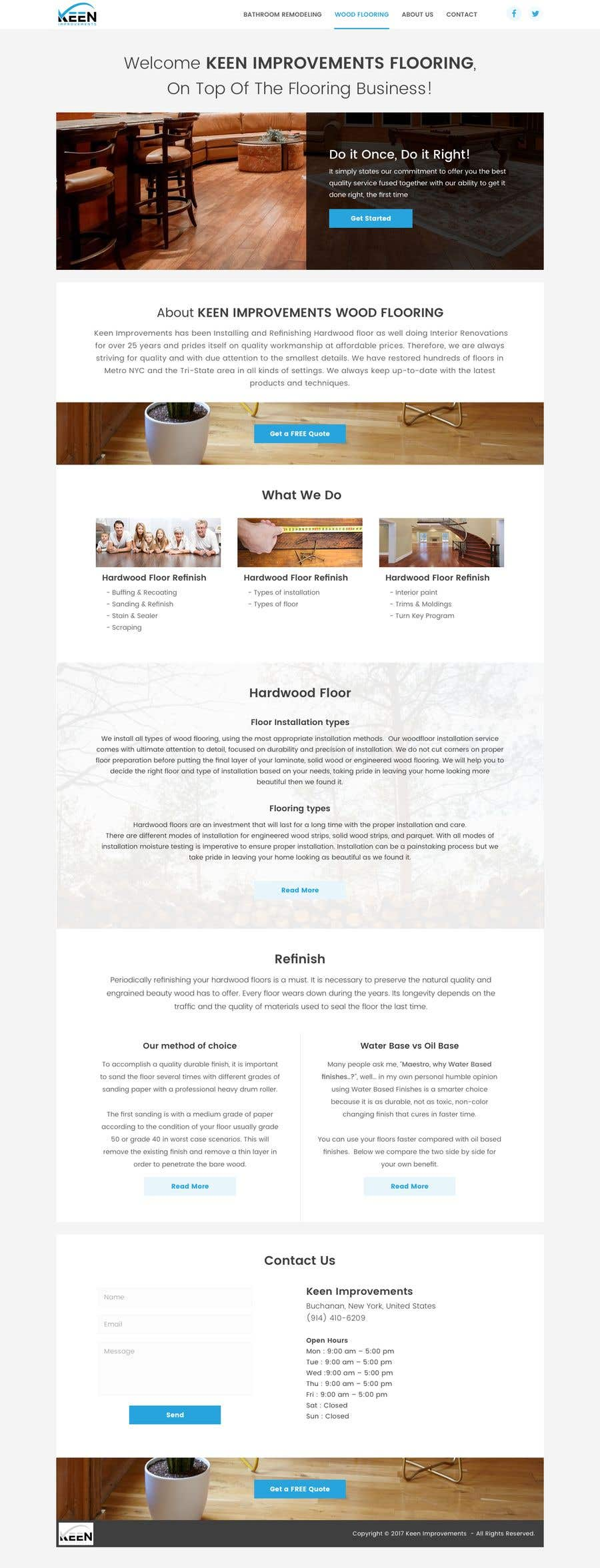 Contest Entry #17 for Create Website for Keen Improvements