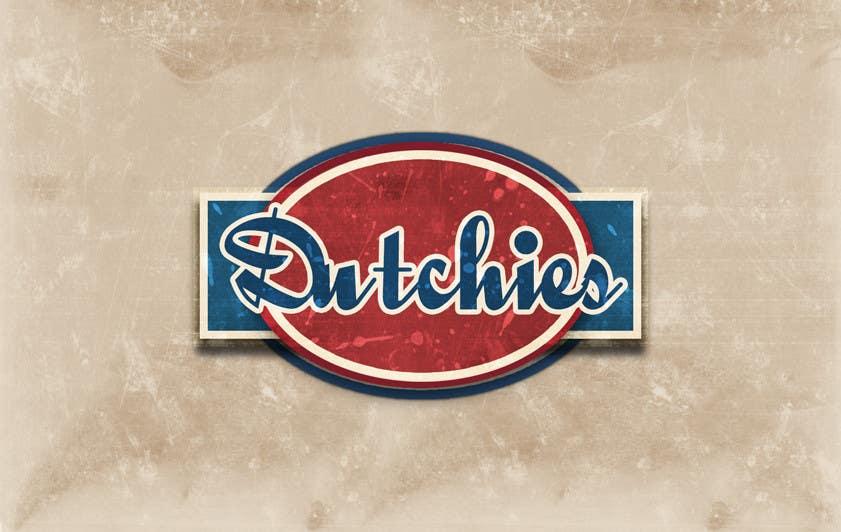 "Kilpailutyö #199 kilpailussa Logo Design for ""Dutchies"""