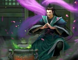 #54 untuk Illustrate or paint a character from a Chinese fantasy novel for use as a book cover oleh rivaro