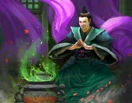 #58 untuk Illustrate or paint a character from a Chinese fantasy novel for use as a book cover oleh rivaro