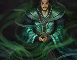 #34 untuk Illustrate or paint a character from a Chinese fantasy novel for use as a book cover oleh shustovalada