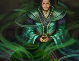 #37 untuk Illustrate or paint a character from a Chinese fantasy novel for use as a book cover oleh shustovalada