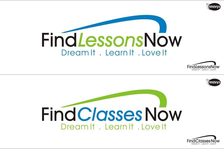 Bài tham dự cuộc thi #312 cho Logo Design for FindLessonsNow/ FindClassesNow