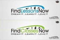 Graphic Design Kilpailutyö #290 kilpailuun Logo Design for FindLessonsNow/ FindClassesNow
