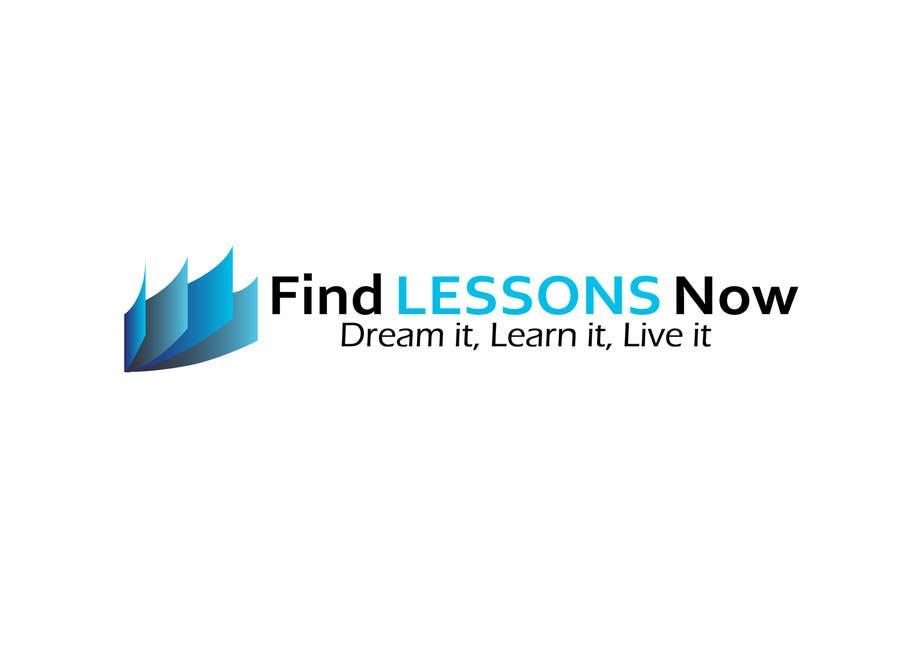 Kilpailutyö #50 kilpailussa Logo Design for FindLessonsNow/ FindClassesNow