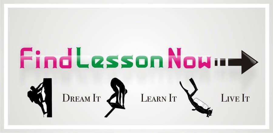 Kilpailutyö #184 kilpailussa Logo Design for FindLessonsNow/ FindClassesNow