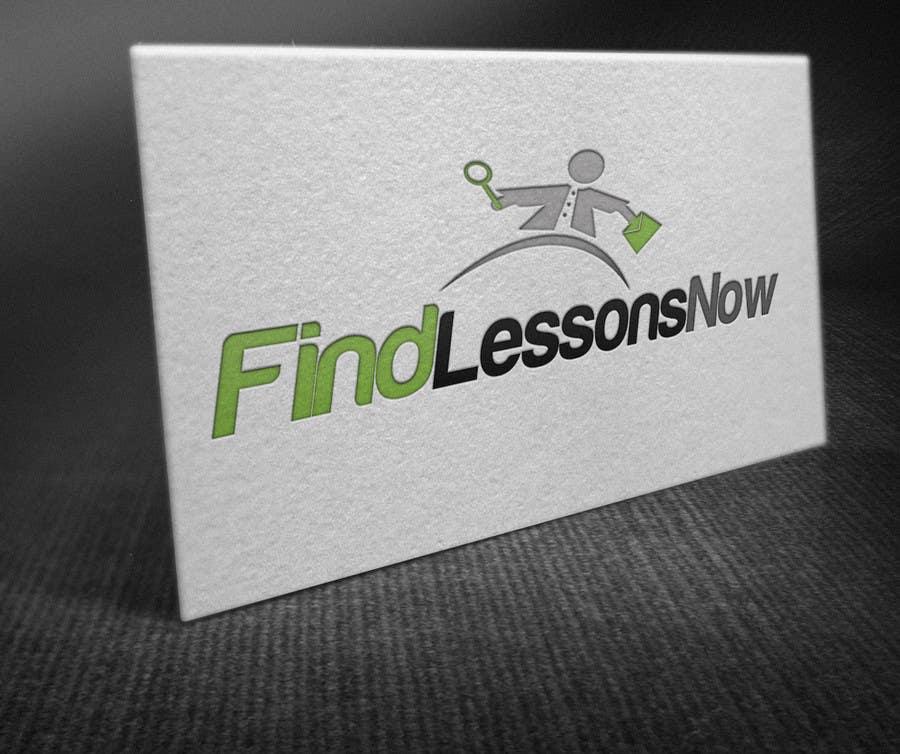 Конкурсная заявка №235 для Logo Design for FindLessonsNow/ FindClassesNow