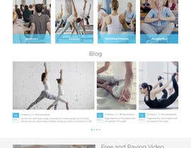 #6 for Design Icelandic Yoga Webpage by tamamanoj