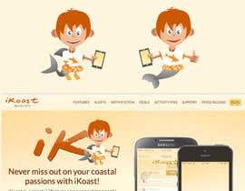 #9 para iKoast App Mascot / LOGO por Attebasile