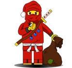 Graphic Design for Christmas Ninja Outfit için Graphic Design48 No.lu Yarışma Girdisi
