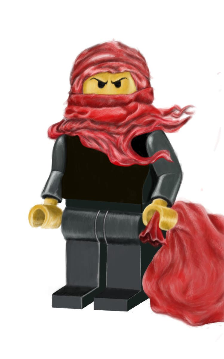 Penyertaan Peraduan #57 untuk Graphic Design for Christmas Ninja Outfit