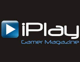 #41 for Logo Design for iPlay Gamer Magazine af santarellid
