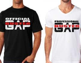 #165 pёr GAP BUSTER Logo T-shirt design nga marijakalina