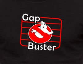 #81 pёr GAP BUSTER Logo T-shirt design nga KLTP