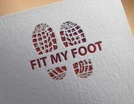 Nro 33 kilpailuun Logo design for online sneakers shop - Fit my foot käyttäjältä sagor01716