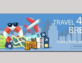 Nro 27 kilpailuun Design a header/banner and site icon for my travel blog käyttäjältä nayeem200