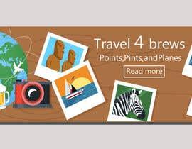 Nro 54 kilpailuun Design a header/banner and site icon for my travel blog käyttäjältä nayeem200