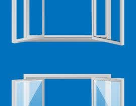#10 for Design Windows/Doors/Patios Images/Vector Clip Art by zuhaibamarkhand