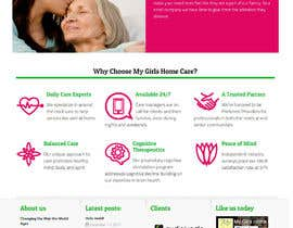 #19 for New Website for My Girls Home Care by risj