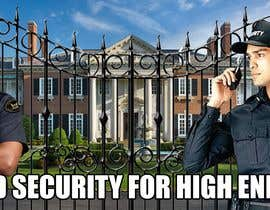 #2 for I need a professional advertisement of a security job for hire at a high end community. Must include professional pictures of security guards and fancy looking homes and include benifites of the job. by JamesDao