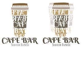 #27 untuk Logo para cafe bar - coworking . Nombre de la marca : Espresso Cafe bar oleh CamilaSic