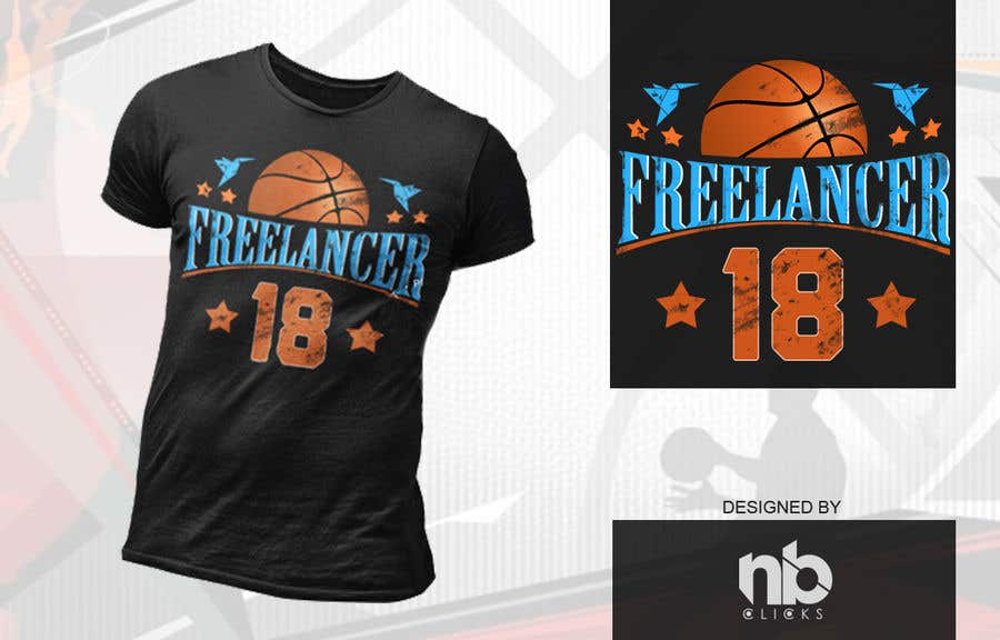 0abce2a43a1 Entry  8 by nbclicks for Design Basketball Jersey