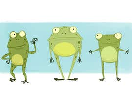 #37 untuk Create cartoon frog character for children's book oleh vijayrai1989