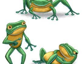 #14 untuk Create cartoon frog character for children's book oleh basselelkadi